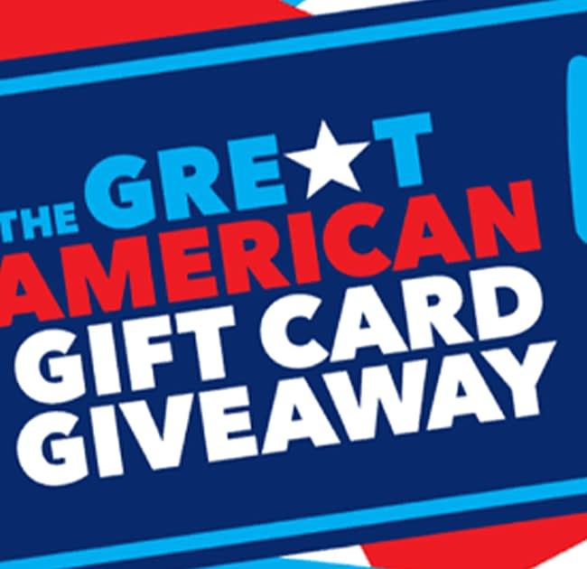 Great American Gift Card Giveaway