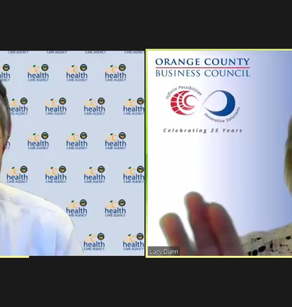 Dr. Clayton Chau OCHC and Lisa Dunn OCBC