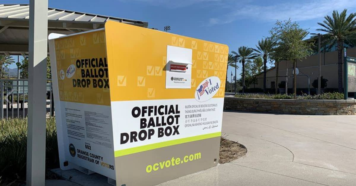 Orange County Ballot Box.