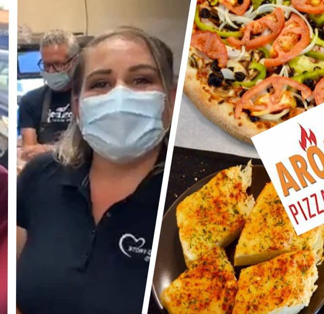 Aroma pizza & pasta in Lake Forest with Wow!